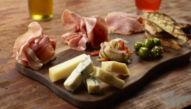 Salumi and Cheese Board